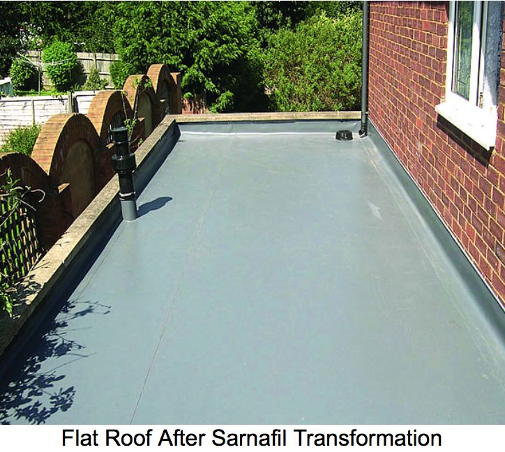 Sika Sarnafil Flat Roofing System you'll be making an investment into the future and in the process saving time and wasted money spent on renewing your existing felt roof, typically every 10 years
