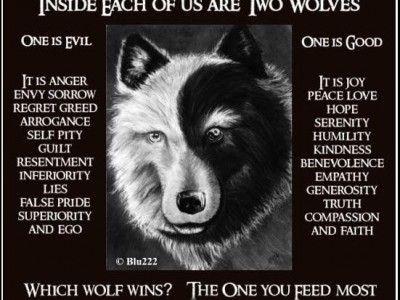 Twee wolven wonen in mijn hart - De Gestolen Grootmoeder