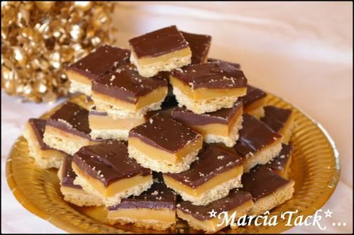 La recette détaillée des caramel shortcakes : ces petits biscuits londoniens au toffee et chocolat n'auront plus de secret pour vous !
