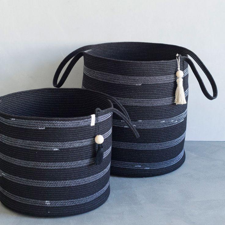 Laundry Baskets by Mia Mélange