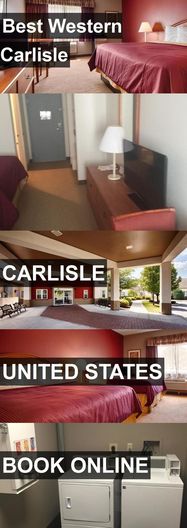Hotel Best Western Carlisle in Carlisle, United States. For more information, photos, reviews and best prices please follow the link. #UnitedStates #Carlisle #hotel #travel #vacation