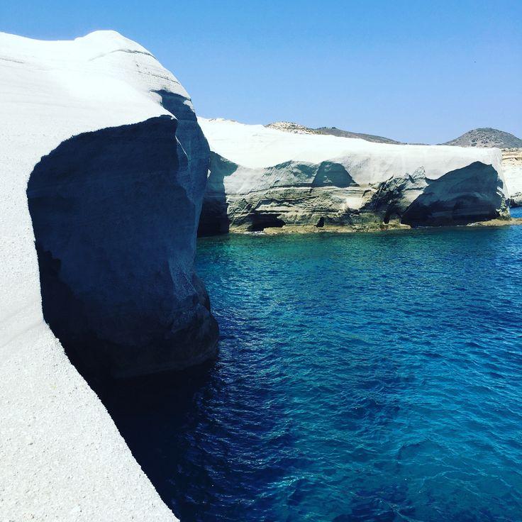 I ❤️Greece  Amazing beaches  #greece #photography #picoftheday #travel #travelblogger #greece #santorini #oia #instagram #instagood #holidays #vacances #planet#folegandros #milos #cyclades #globetrotter #instagrammer #instadaily