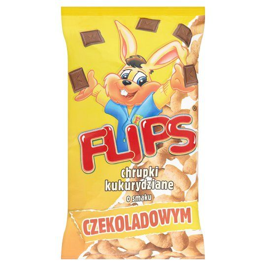 Flips Corn Puffs With Chocolate Flavour 70G