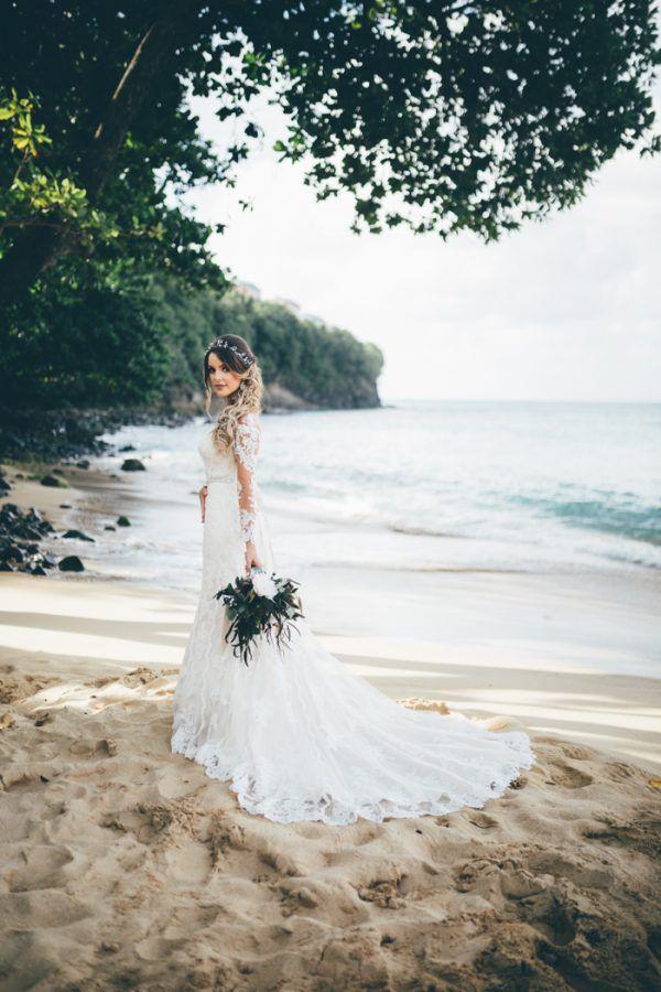 Majestic Seaside St. Lucia Wedding at Regency La Toc