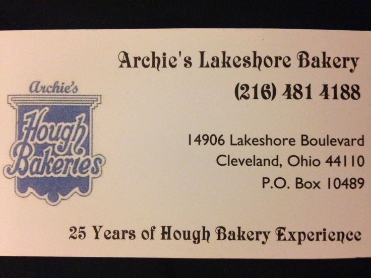 24 Best Hough Bakeries Images On Pinterest Bakeries Cleveland