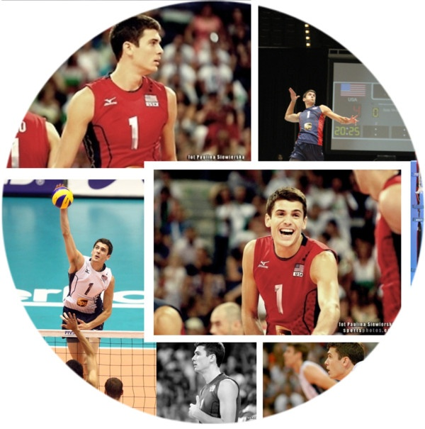 """Matt Anderson - Volleyball Player"" by majksister ❤ liked on Polyvore"