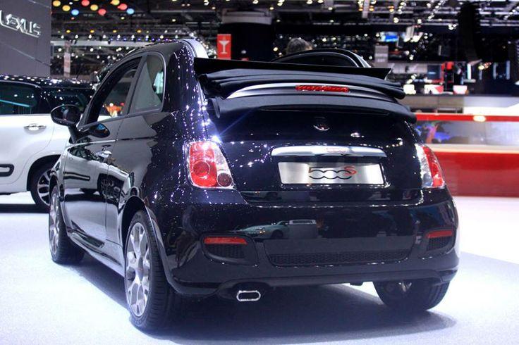 Fiat 500S Cabrio @ 84th Geneva International Motor Show > #Fiat500 #SIAG