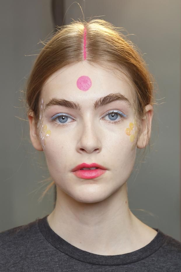 Runway Makeup {Manish Arora spring/summer 2015} #runwaymakeup #editorialmakeup