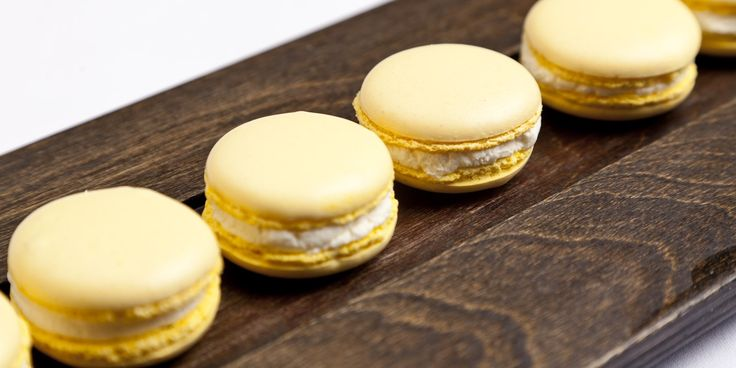 Simon Gueller's marvelous mustard macarons make interesting dinner party canapés