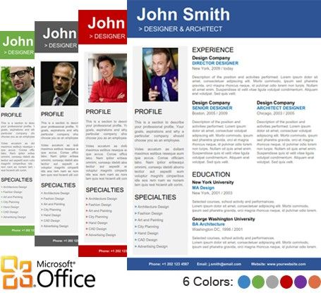 Microsoft Publisher Resume Templates  Resume Templates And Resume