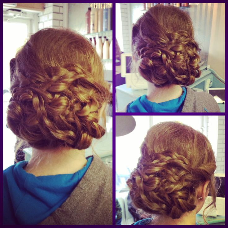 Updo for Prom #bbbeauty #bbbteam #twisted #braided  www.brittanybuckhair.com