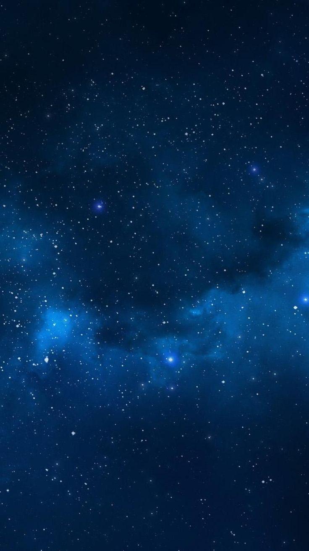 Iphone Blue Stars Wallpaper - Best iPhone Wallpaper