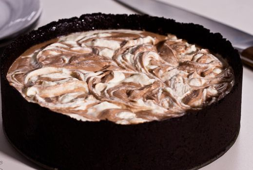 Πανεύκολο cheesecake Nutellas χωρίς ψήσιμο (Video)