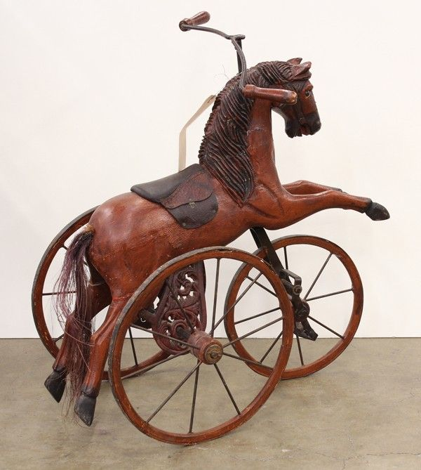 Makers Of Antique Tricycles : Best victorian rocking horse images on pinterest old