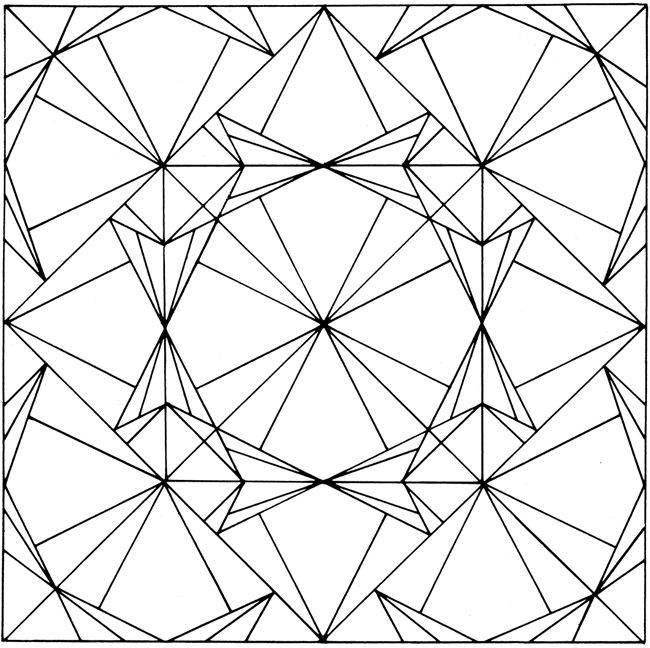 Coloring Pages For Quilt Blocks : 102 best geometric patterns coloring pages images on pinterest