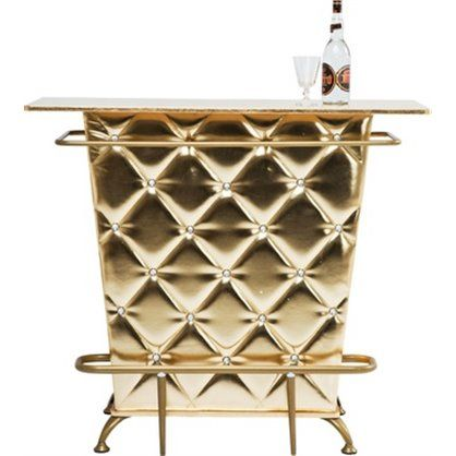 Bar Lady Rock Gold, kare design