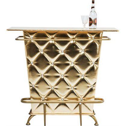 Bar Lady Rock Gold, kare design
