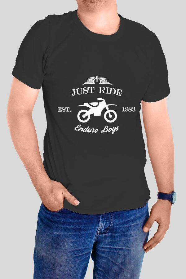 Just Ride - Enduro Boys T-shirt  https://www.spreadshirt.com/just-ride-enduro-boys-A103967912