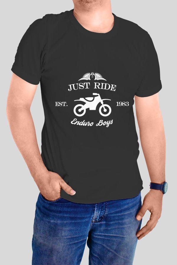 Just Ride - Enduro Boys T-shirt  https://www.spreadshirt.com/just-ride-enduro-boys-A103967912