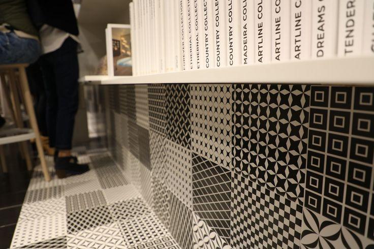 Cas Ceramica present patchwork collection (Black&White series)