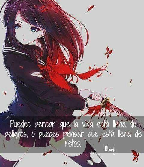 Frases, anime.