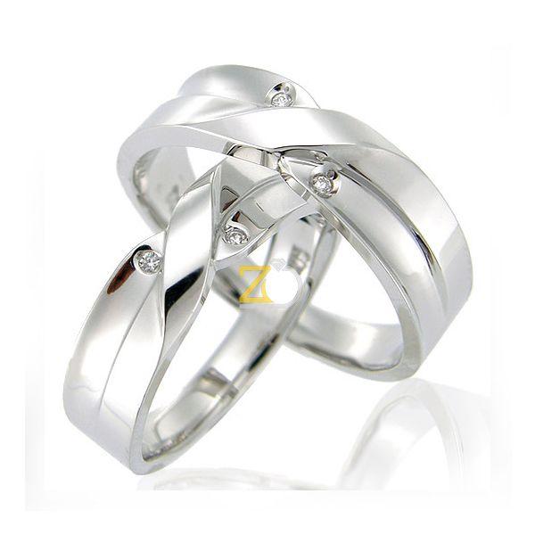Model Cincin Kawin Cantik Palladium  Model cincin kawin / pernikahan / cincin tunangan dengan desain yang elegan, memiliki ornamen yang sangat cantik. Berbahan ekslusif palladium kadar 50% kualitas terbaik dengan harga yang murah terjangkau.