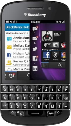 BlackBerry Q10 - Datenblatt bei teltarif.de
