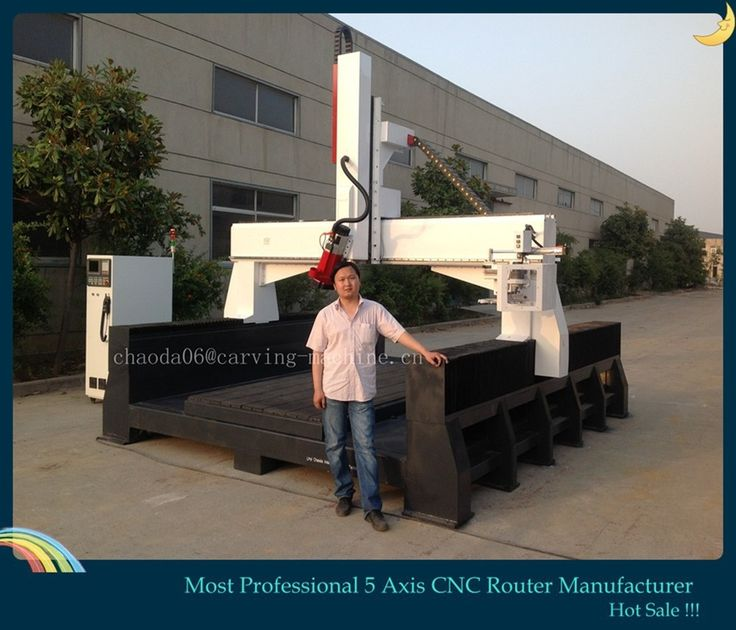 Factory Price ! 3D Statue 5 Axis CNC Carving Marble Granite Stone Machine Price