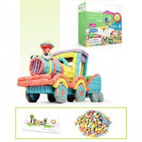 Corn starch 3D construction 400 pieces (5824)