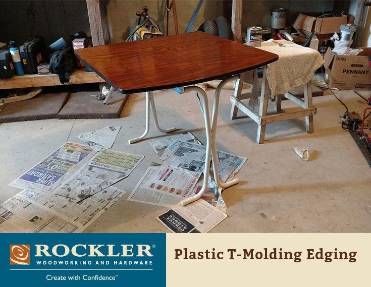 Plastic T Molding Edging 3 4 Wide X 12 Long Diy Furniture