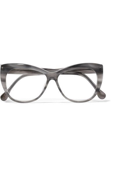 Elizabeth and James - Clarence Cat-eye Acetate Optical Glasses - Gray - One size