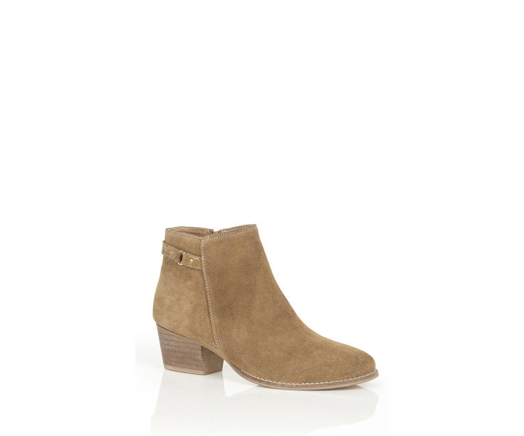 Oasis, SALLY STRAP ANKLE BOOT Mid Neutral