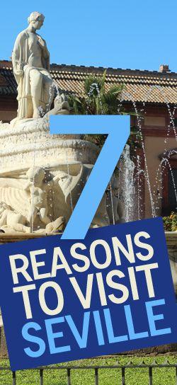 7 Reasons to Visit Seville, Spain   http://travelsofadam.com/2014/02/visit-seville/   via @Adam Groffman