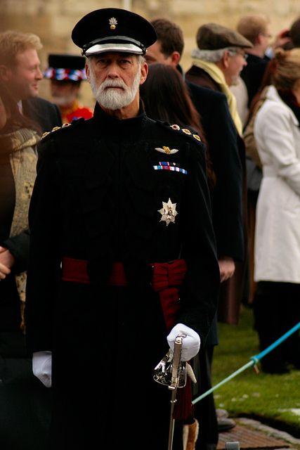 HRH Prince Michael of Kent, Queen Elizabeth the second's cousin..