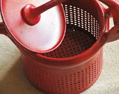 Vintage Farmhouse Retro Kitchen RED HOT Potato Ricer