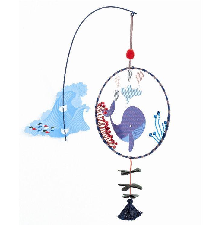 Djeco uro – Hvalen - Tinga Tango Designbutik #djeco#legetøj#børneværelse