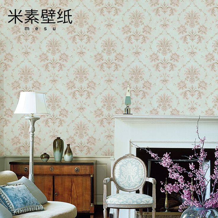 114.56$  Watch here - http://ali8k0.worldwells.pw/go.php?t=32776416911 - 2016 Special Offer Papel De Parede Papier Peint M In American Pastoral Pure Paper Wallpaper Bedroom Tv Backdrop Retro Hathaway  114.56$