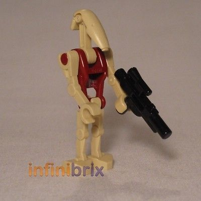 Lego #security #battle droid from sets 7662 + 9494 star wars #minifigure new sw09,  View more on the LINK: 	http://www.zeppy.io/product/gb/2/261639735748/