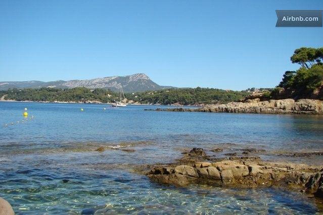 Zee dichtbij, prima prijs, geen zwembad Sea and sun Côte d'Azur 14 persons in Le Pradet