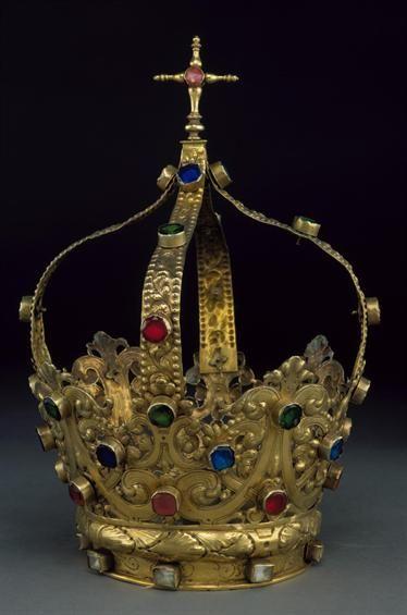 Crown Coroa fechada / Século XVII / Portugal / Museu Nacional de Arte Antiga.