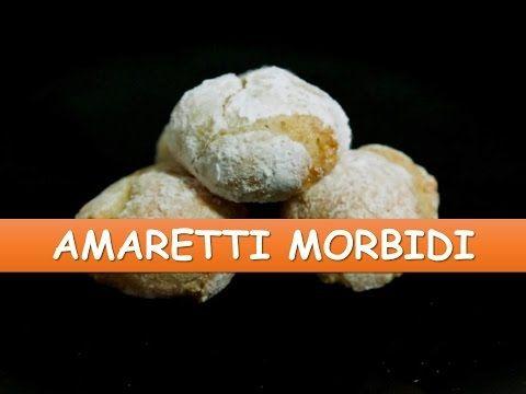 Ricetta ~ Amaretti Morbidi - YouTube