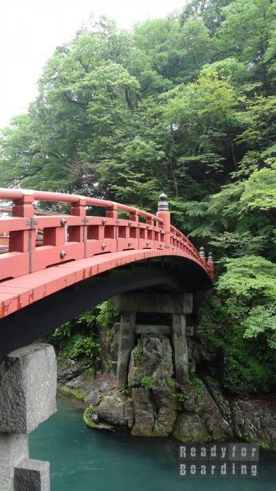 Shinkyo Bridge in #Nikko  #japan  Japonia z #readyforboarding