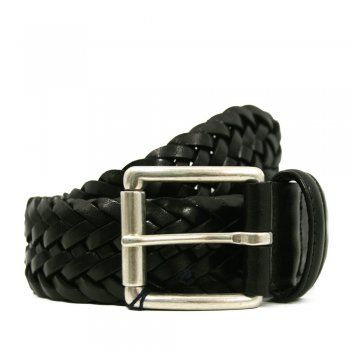 Anderson's Belts Andersons Braided Black Leather Belt A1097