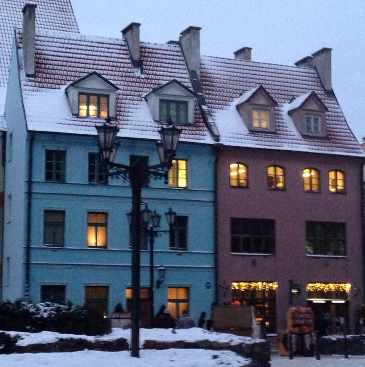 Colours of Old Town in Riga