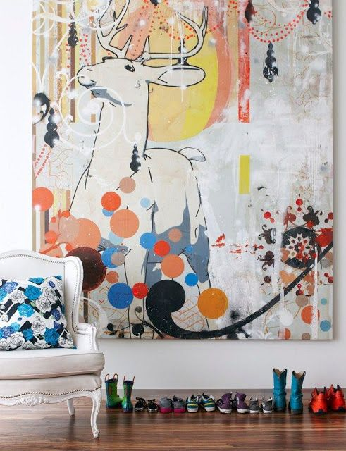 Interior crisp: Mastering the art of huge artwork !