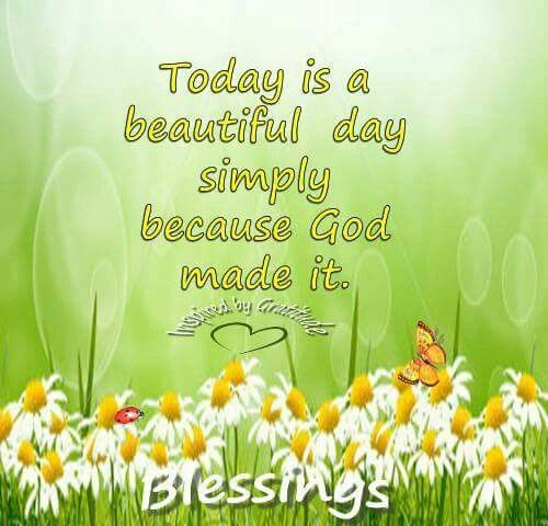 Inspirational Day Quotes: 112 Best HAVE A BEAUTIFUL DAY Images On Pinterest