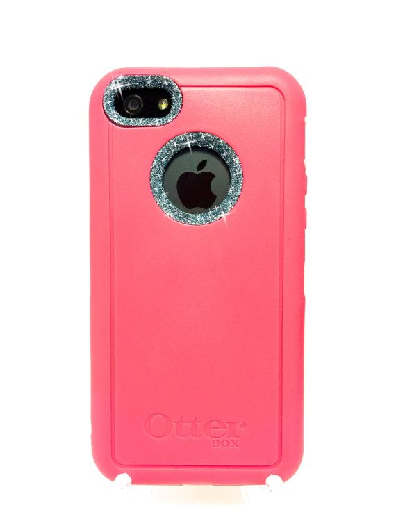 iPhone 5c OtterBox Defender Series Case Glitter by NaughtyWoman