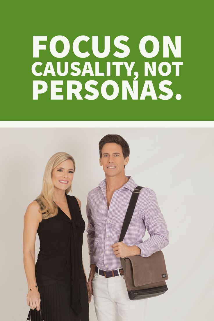 Personas can be the death of the true connection to your user/customer. Focus on causality in #digitalmarketing and #UX/UI