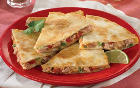 Try these Hickory Smoked Tuna Quesadillas for a quick dinner fix! #dinner