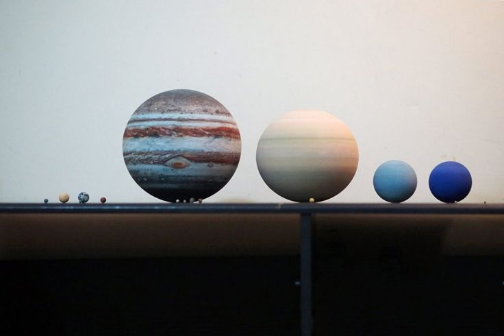 3D-Printed Solar Systems, Moons and Planets for Your Desktop | Colossal